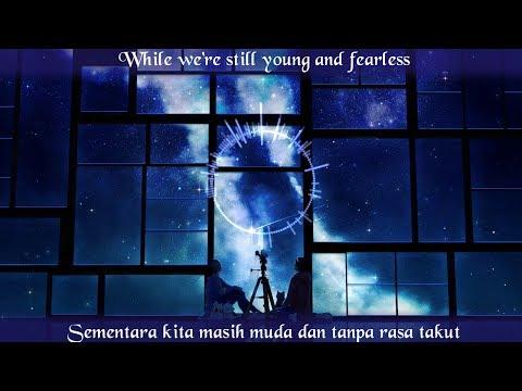 Lyrics (indo + Eng) Nightcore Alan Walker - Darkside (feat. Au/Ra And Tomine Harket)