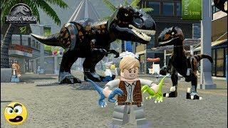 LEGO Jurassic World - Como Criar o Indoraptor - Caraca Games