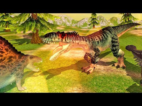 Allosaurus Simulator - Dinosaur Survival Battle 3D | Eftsei Gaming