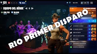 "HERO TEAM GUIDE ""RIO FIRST DISPARO"" / FORTNITE SAVE THE WORLD"