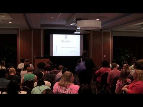 MSW Orientation Aug 2013 Wed Part 1
