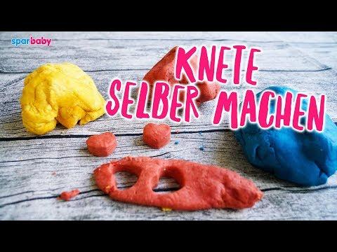 DIY Knete für Kleinkinder selber machen / Anleitung
