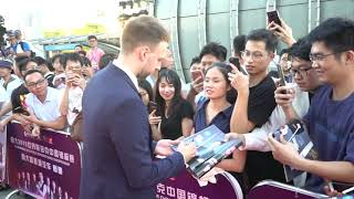Snooker Stars Hit Red Carpet In Guangzhou