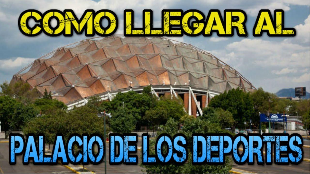 Como llegar al palacio de los deportes 9na convenci n de for Palacio de los azulejos mexico