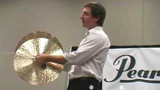 Vic Firth Crash cymbal technique, closing remarks