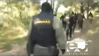 Захват банды рэкетиров в Кобрине рб