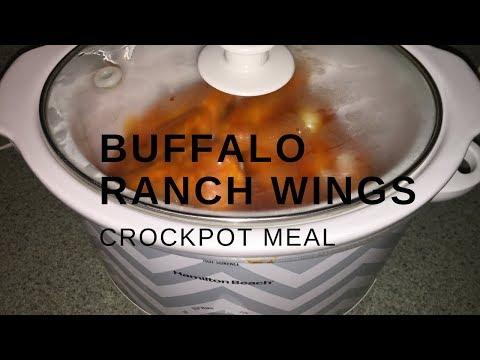 BUFFALO RANCH WINGS | CROCKPOT MEALS