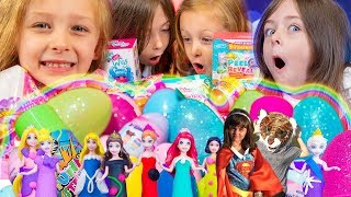 Favorite Girl Toys Moments Surprise Eggs & Blind Bags for Girls | Kinder Playtime It's a Toy Party!
