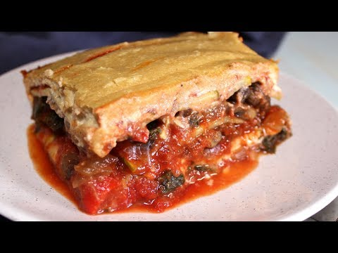 Plant Based Vegan Lasagna (2018) : Whole Food Plant Based Recipes
