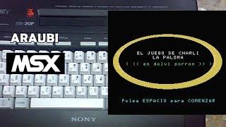 El Juego de Charli la Paloma (JOESG, 2011) MSX [296] Walkthough Comentado