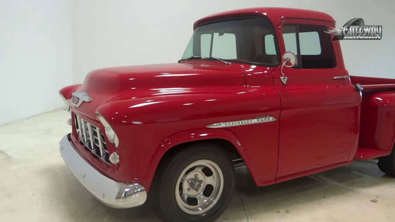 Truck 56 chevy truck : 1955 Chevy Truck For Sale - YouTube
