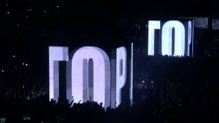 Jay-Z & Kanye West - H.A.M / Who Gon Stop Me - Bercy - 02.06.12 ( Opening )