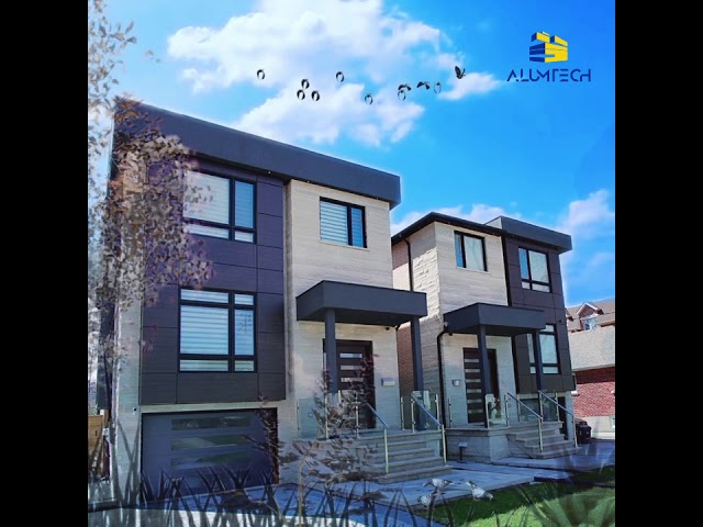 Alumtech acp residential projects