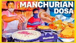 Manchurian Dosa In Mumbai &  Bhau Vada Pav | Veggie Paaji