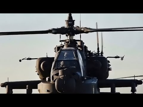 U.S. Army Helicopters Take-Off And Deploy To NATO Countries