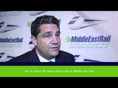 Interview with Roland Berger at Middle East Rail 2017