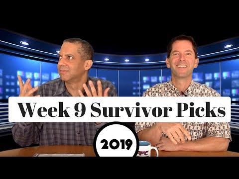 2019 NFL Survivor Pool Picks Week 9