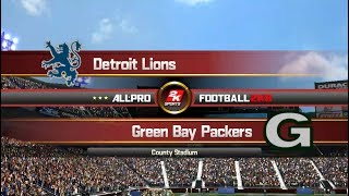 APF 2k8: 1993 - Green Bay Packers vs Detroit Lions