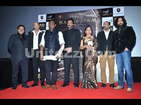 Bollywood Celebs at The Trailer Launch of Movie Kamasutra 3D Travel Video