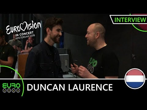 THE NETHERLANDS EUROVISION 2019: Duncan Laurence - 'Arcade' INTERVIEW! | Eurovision in Concert 2019