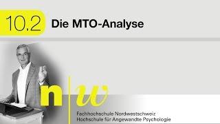 10.2 Die MTO-Analyse