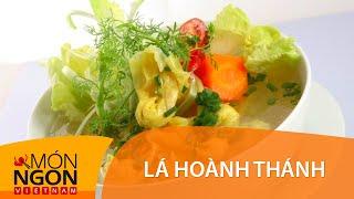 Dạy Cách Làm Lá Hoành Thánh Nấu Sườn Tôm   Món Ngon Việt Nam