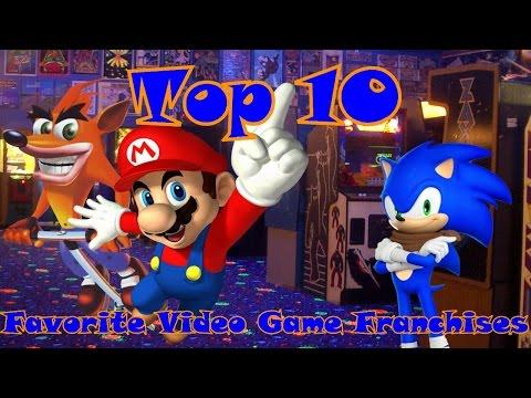 Top 10 Favorite Video Game Franchises