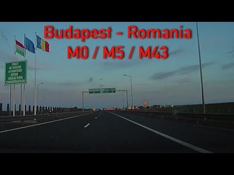 M0/M5/M43 Budapest - Romanian border