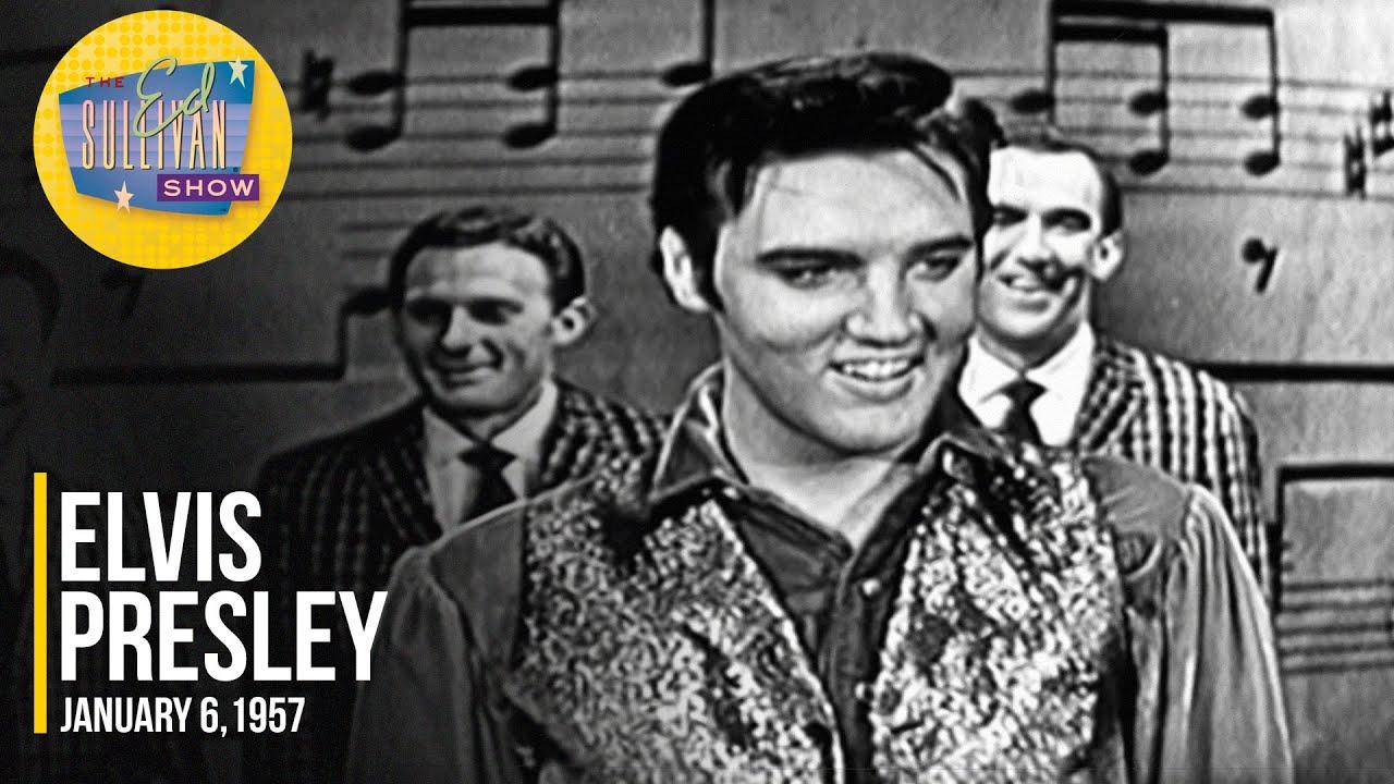 Elvis Presley Don T Be Cruel January 6 1957 On The Ed Sullivan Show Youtube