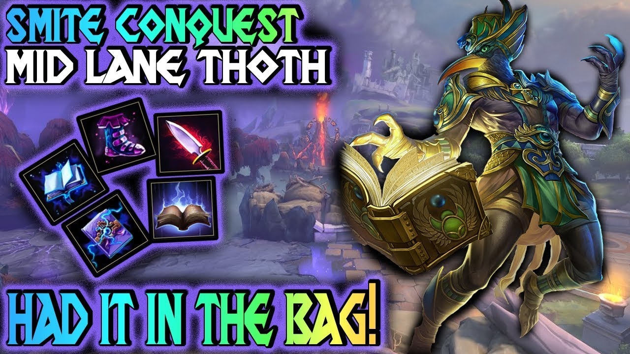 Smite Thoth Build And Guide What A Turn Smite Gameplay Youtube