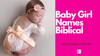 50 Christian names with meanings and scriptures for girls Video