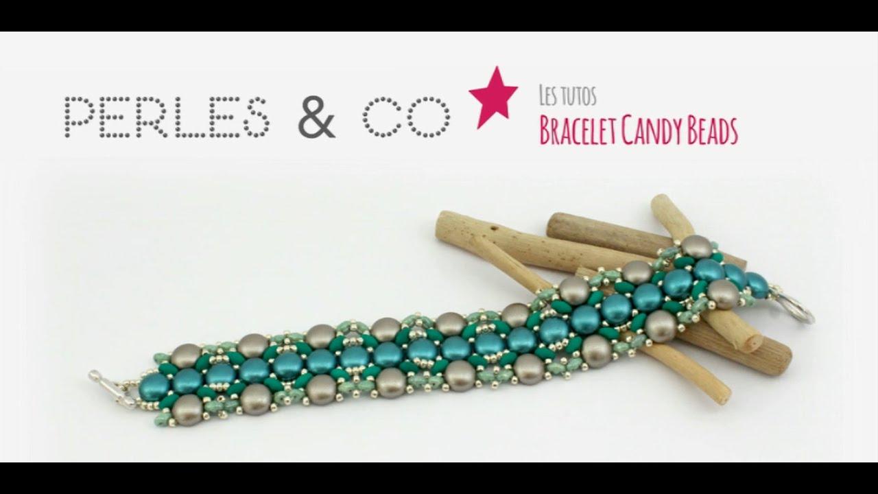 bracelet perles tissees tuto
