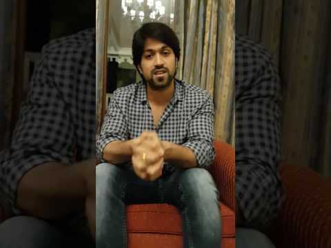 Yash Reacts To Media Challenge - We are with Yash - Yash Kannada Public TV -Controversy