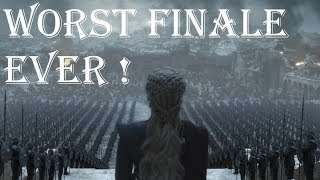 Game Of Thrones Season 8 Episode 6 Reaction - Worst Finale Ever - Game Of Thrones Series Finale Rant