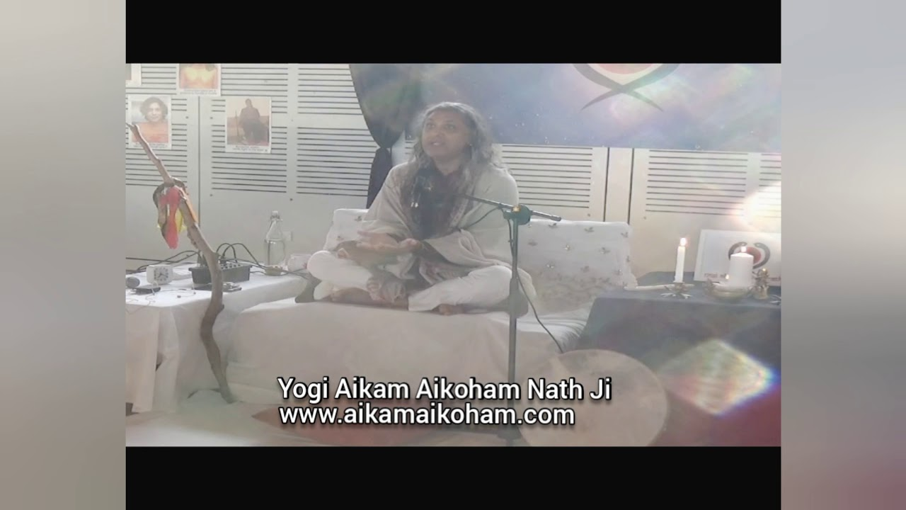 Aikam Aikoham Nath ji Satsang- Witness the light beings and Ascended Masters around him