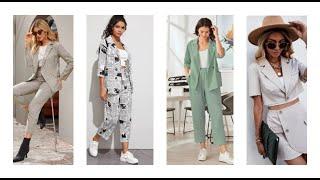Suits for women Shein Модные и красивые разнообразные женские костюмы в магазине Шейн