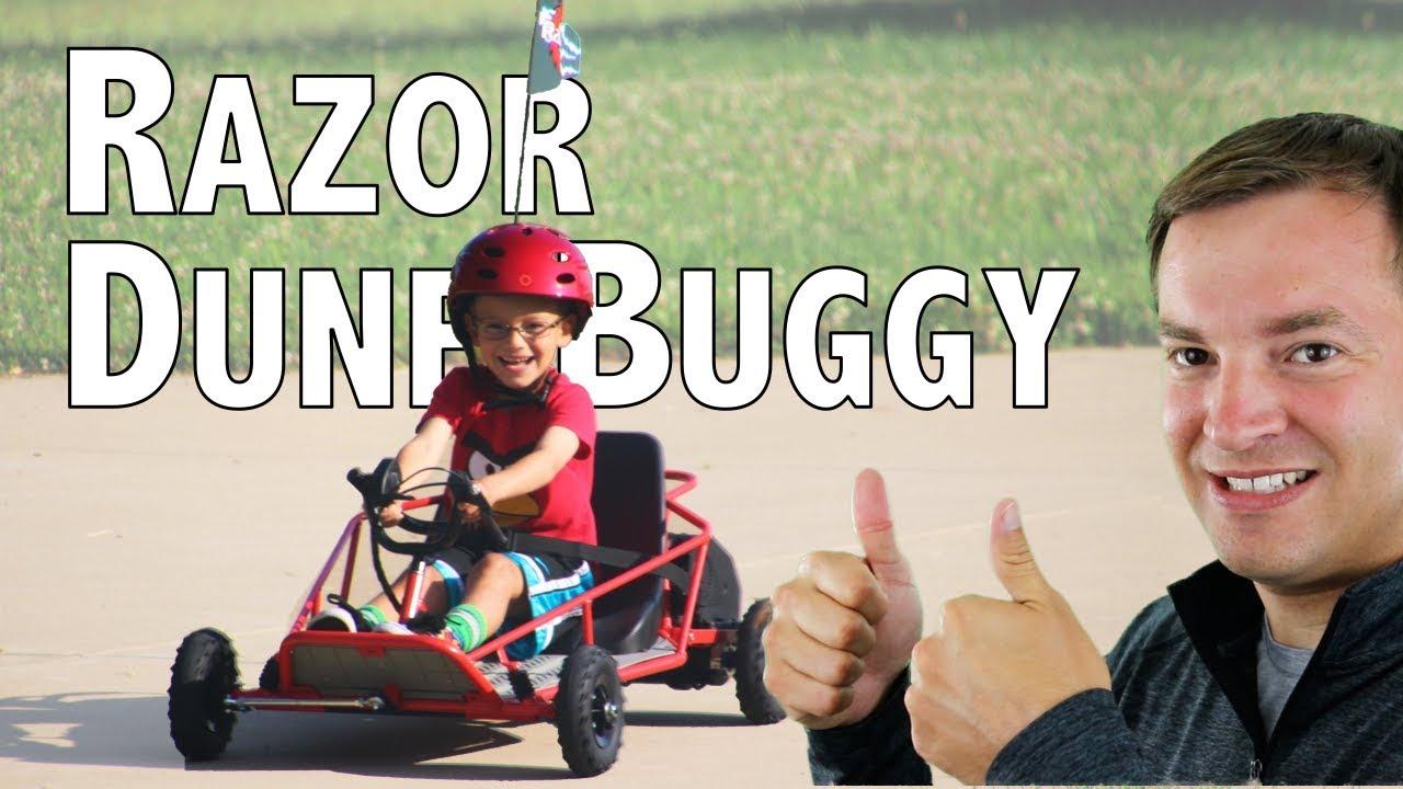 razor dune buggy review best go kart for kids 2017 youtube. Black Bedroom Furniture Sets. Home Design Ideas