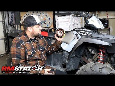 How To Install A Stator On A Polaris Sportsman 700 EFI Twin - RMSTATOR RM01057