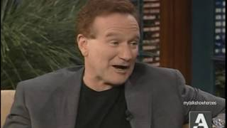 ROBIN WILLIAMS DOES VOICES on 'LENO'
