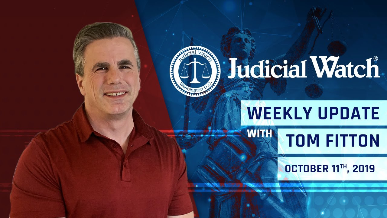 Judicial Watch Trump Pushes back against Coup, JW Battles in Court to Question Hillary Clinton, &