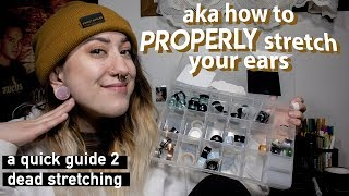 a 101 guide on stretched ears