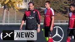 Aus für Alexander Zorniger |  Trainer-Entlassung beim VfB Stuttgart
