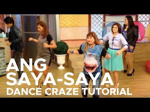 ANG SAYA-SAYA DANCE CRAZE TUTORIAL