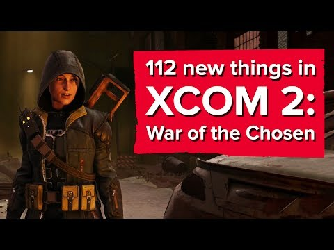 112 new things in XCOM 2: War of the...