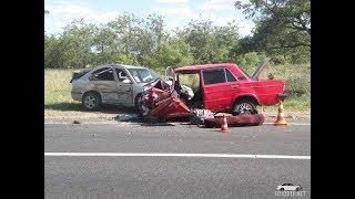 Аварии на дорогах, приколы на дорогах 2018 3