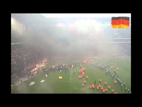 Riot in German Bundesliga ...
