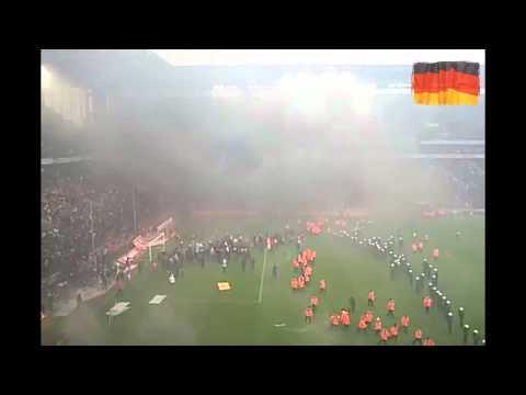 Riot in German Bundesliga ...