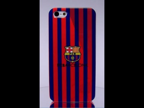 Fundas iphone 5 5s 4 4s fc barcelona azulgrana futbol club bar a carcasas liga youtube - Fundas iphone 5 divertidas ...