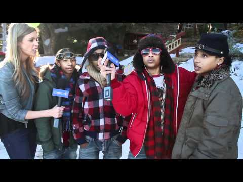 Mindless Behavior Interview -- On Set