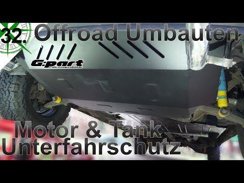 Offroad Umbauten | Motor & Tank Unterfahrschutz | G-PART |  VW T4 Syncro Camper | #32.